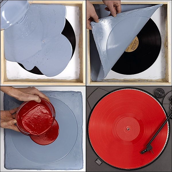 Copying a vynil disc